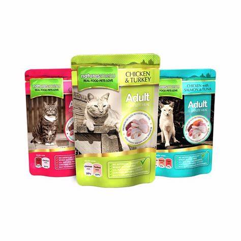 Natures Menu Adult Cat Pouches