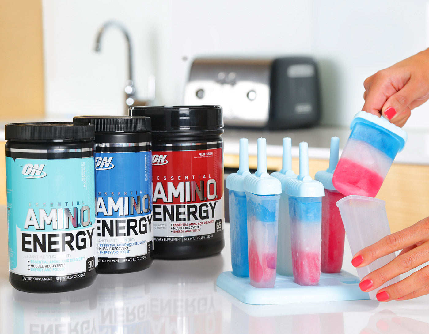 Optimum Nutrition Essential Amino Energy - Image