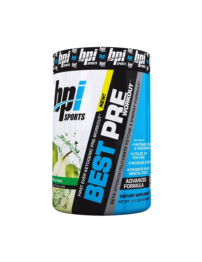 BPI Best Pre with Keto