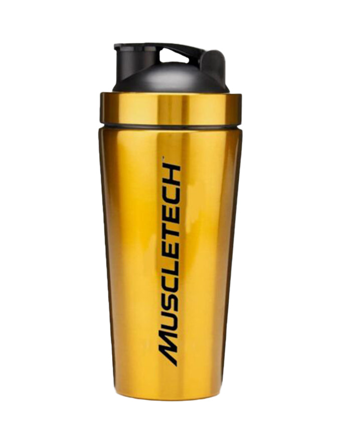 MuscleTech Gold Stainless Steel Shaker
