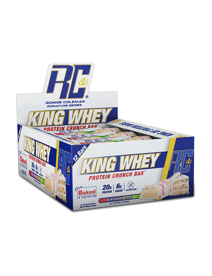 Ronnie Coleman King Whey Crunch Bar