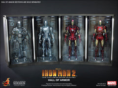 IRON MAN 2: Hall of Armor (Set of 7) 1:6 Scale Collectible