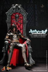 SPACE PIRATE CAPTAIN HARLOCK: Captain Harlock with Throne 1:6 Scale Movie Masterpiece Figure