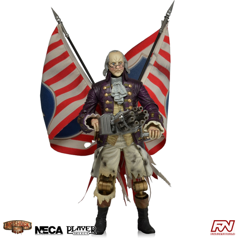 BIOSHOCK INFINITE: Benjamin Franklin Automated Patriot 9-Inch Scale Action Figure