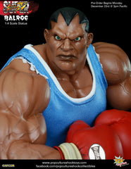 STREET FIGHTER: Balrog 1:4 Scale Statue