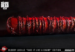 "THE WALKING DEAD: Negan's Bat ""LUCILLE – TAKE IT LIKE A CHAMP"" EDITION Roleplay Replica"