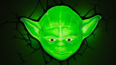 STAR WARS: Yoda Face 3D Deco Light
