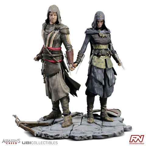 ASSASSIN'S CREED MOVIE: Aguilar & Maria PVC Figurine Set