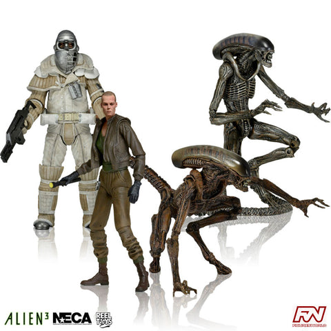 ALIENS SERIES 8: Action Figure Set