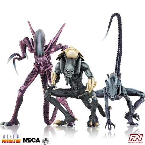 Aliens VS. Predator (Arcade Appearance) Alien 7-Inch Scale Action Figure Set