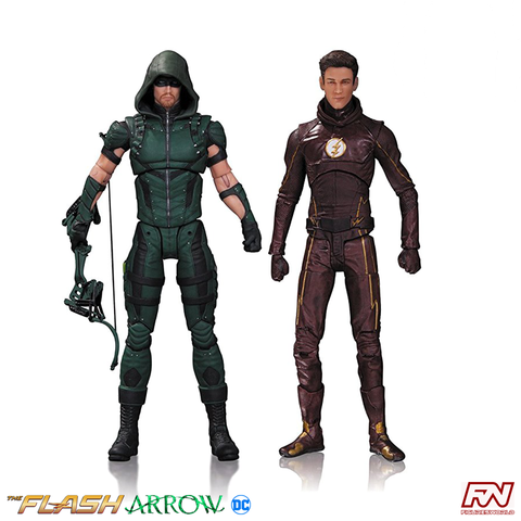 THE FLASH & ARROW Action Figure 2-Pack