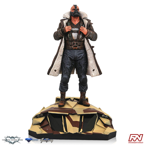 DC MOVIE GALLERY: DARK KNIGHT RISES Bane PVC Diorama