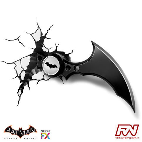 BATMAN: ARKHAM KNIGHT: Batarang 3D Deco Light