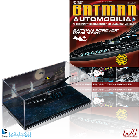BATMAN AUTOMOBILIA #52: Batman Forever Movie - Boat