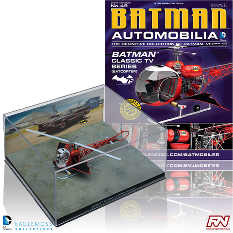 BATMAN AUTOMOBILIA #49: Batman Classic TV Series - Batcopter