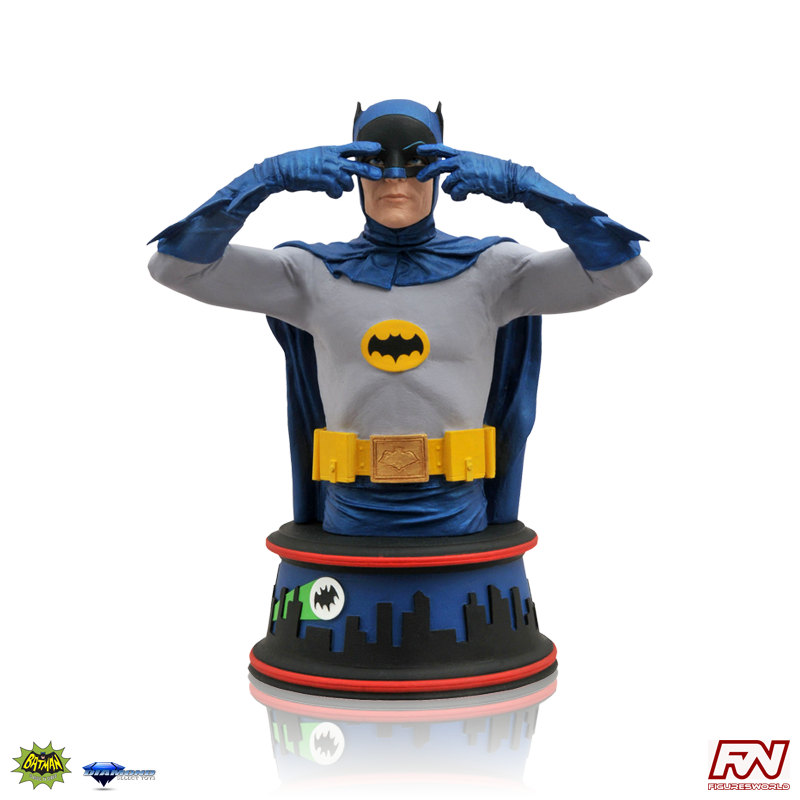 BATMAN Classic TV Series: Batusi Batman Bust