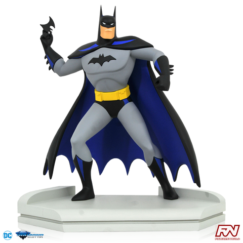JUSTICE LEAGUE ANIMATED PREMIER COLLECTION: Batman Statue (Number #0001 of 3000)