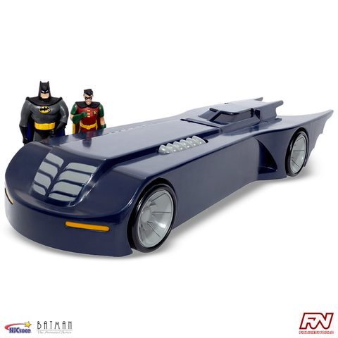 "BATMAN: THE ANIMATED SERIES - 14"" Batmobile with Bendable Figures"
