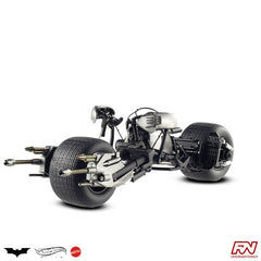 THE DARK KNIGHT TRILOGY: Bat-Pod 1:18 Scale Die-Cast Hot Wheels Elite Collection