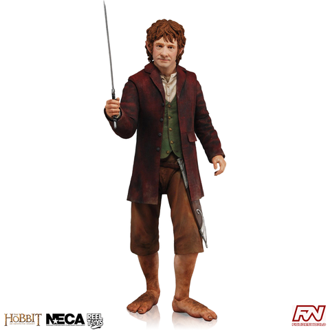 THE HOBBIT: Bilbo Baggins 1:4 Scale Action Figure