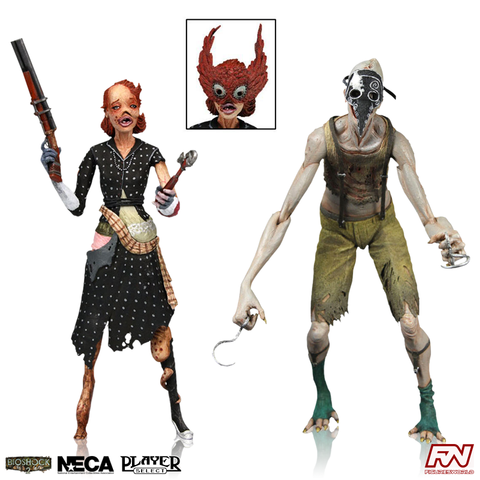 BIOSHOCK 2: Crawler and Ladysmith Splicer 7-Inch Scale Action Figure 2-Pack