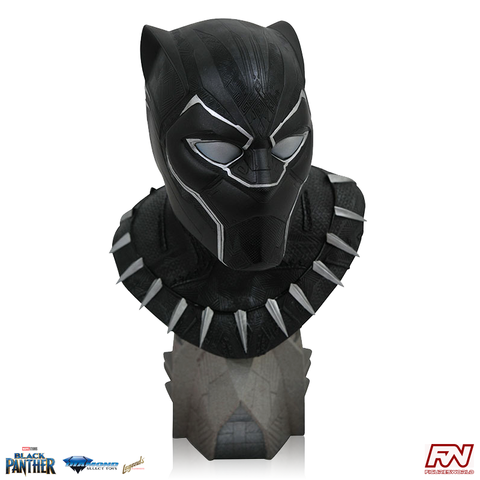 MARVEL MOVIES: LEGENDS IN 3D Black Panther 1:2 Scale Resin Bust