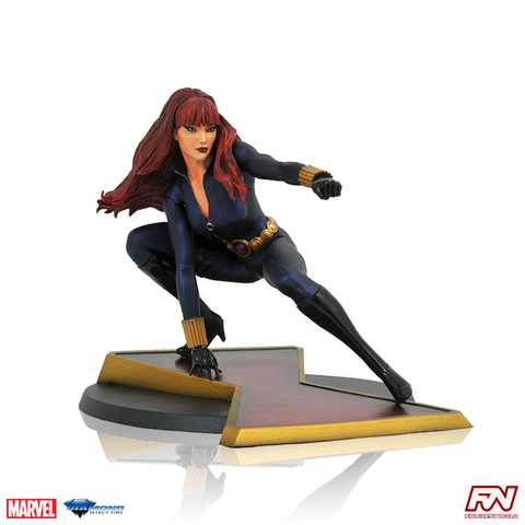 MARVEL COMIC GALLERY: Black Widow PVC Diorama