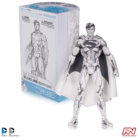 DC COMICS BLUELINE SERIES: Jim Lee Superman Action Figure