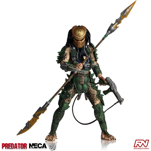 "PREDATOR Series 18 - Broken Tusk Predator 7"" Scale Action Figure"