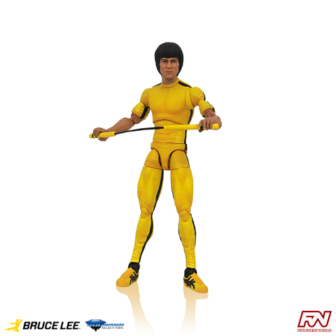 BRUCE LEE Select Action figure Yellow Jumpsuit