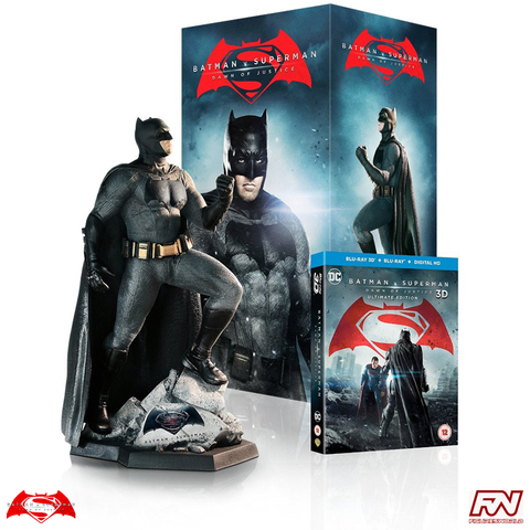 BATMAN V SUPERMAN: DAWN OF JUSTICE Ultimate Collector's Edition with Batman Statue