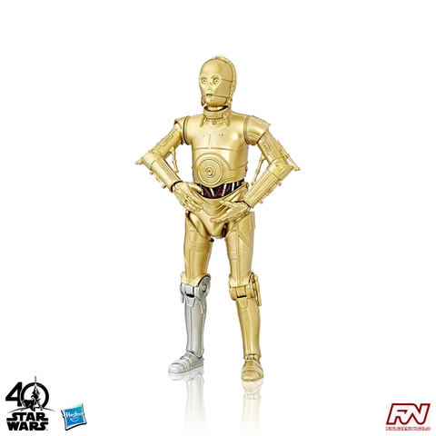 STAR WARS: The Black Series 40th Anniversary C-3PO 6-Inch Action Figure