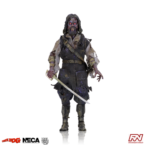 THE FOG: Captain Blake 8-Inch Clothed Action Figure with Ligh-Up Eyes