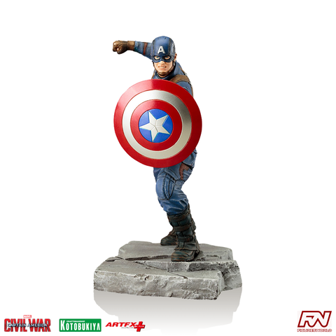 CAPTAIN AMERICA: CIVIL WAR: Captain America ArtFX+ PVC Statue