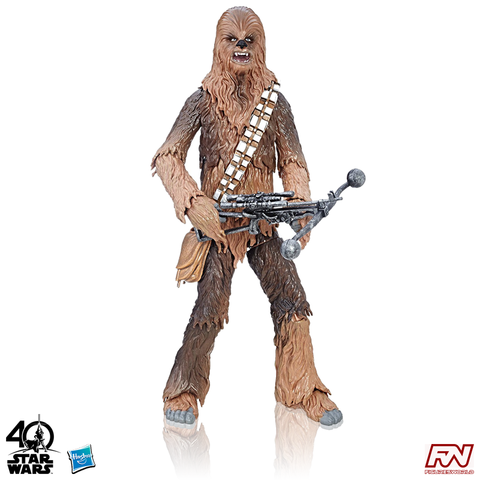 STAR WARS: The Black Series 40th Anniversary Chewbacca 6-Inch Scale Action Figure
