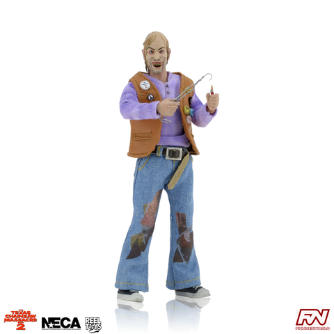 TEXAS CHAINSAW MASSACRE 2: Chop Top 8-Inch Clothed Figure