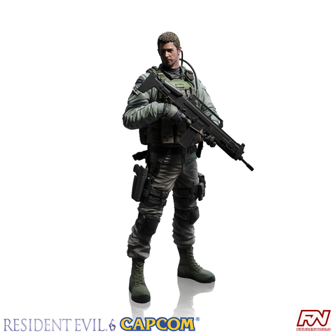 RESIDENT EVIL 6: Creator's Model Chris Redfield PVC Statue