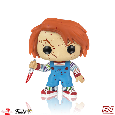 POP! MOVIES: Blood Spattered Chucky Exclusive (56)