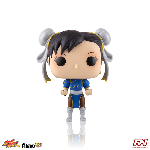 POP! GAMES: STREET FIGHTER - Chun-Li (#136)