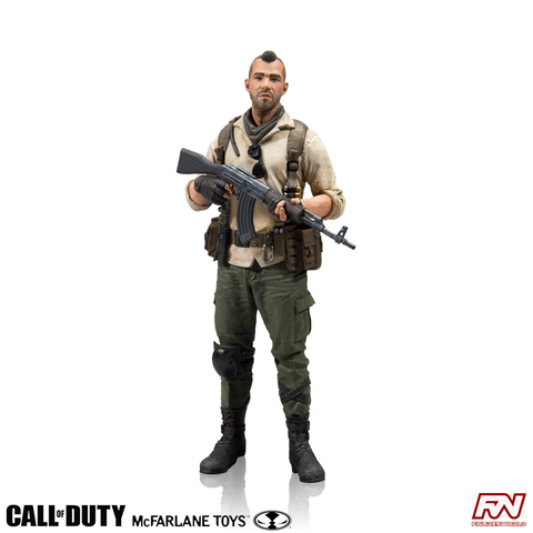 "CALL OF DUTY: John ""Soap"" MacTavish 7-Inch Action Figure"