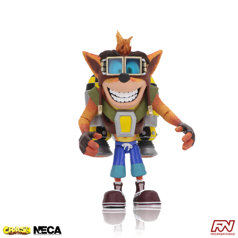 Deluxe Crash Bandicoot with Jet Pack 7-Inch Scale Action Figure