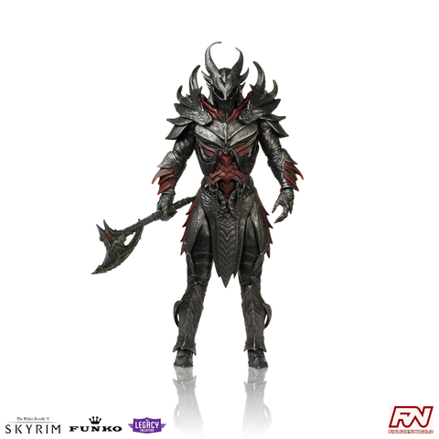 THE ELDER SCROLLS' V SKYRIM: Daedric Warrior Legacy Collection Action Figure