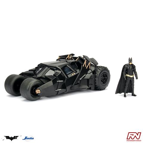 THE DARK KNIGHT: Tumbler Batmobile with Batman 1:24 Die Cast Vehicle & Figure