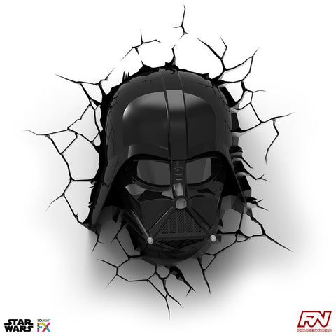 STAR WARS: Darth Vader Helmet 3D Deco Light