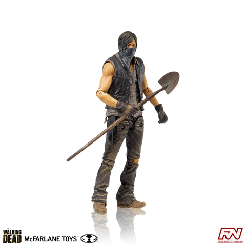 THE WALKING DEAD: TV Assortment 2015: Grave Digger Daryl Dixon EXCLUSIVE Action Figure
