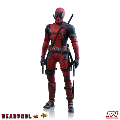 DEADPOOL: Deadpool 1:6 Scale Movie Masterpiece Figure
