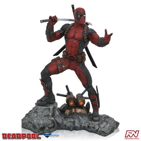 MARVEL COMIC PREMIER COLLECTION: Deadpool Resin Statue