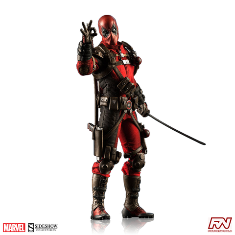 MARVEL COMICS: Deadpool Sixth Scale Figure