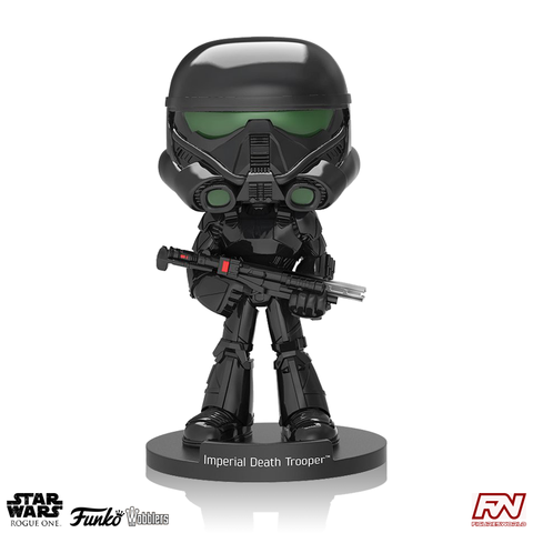 WOBBLERS: STAR WARS: ROGUE ONE - Imperial Death Trooper Bobble-Head