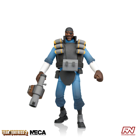Team Fortress 2: BLU Demoman 7-Inch Scale Deluxe Action Figure